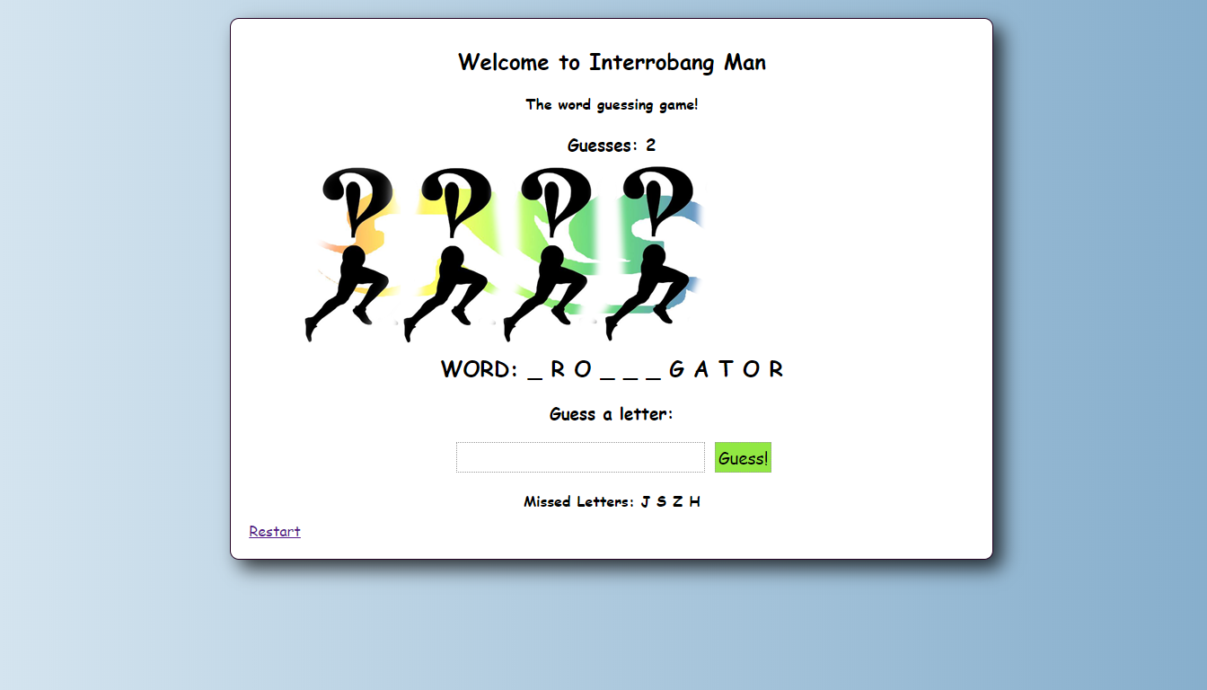 Image for Interrobang Man (Hangman)