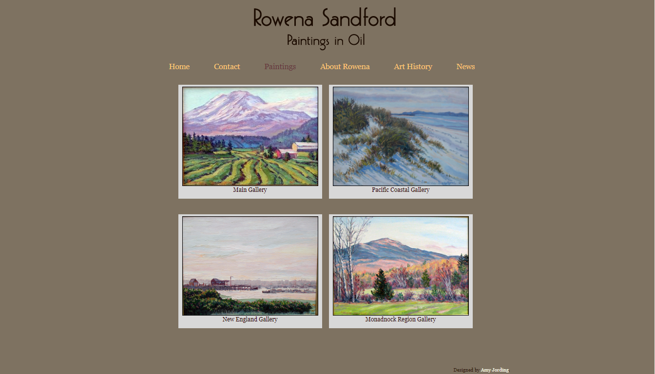 Image for Rowena Sandford Art